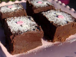 pave au chocolat sans cuisson