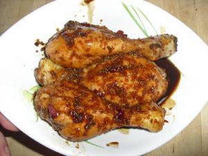 poulet sauce soja