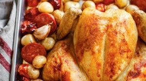poulet au chorizo