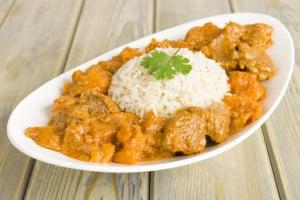 poulet au curry et oignons facile