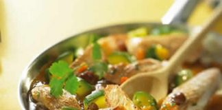 poulet et legumes avec cookeo