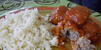 riz aux boulettes de boeuf avec cookeo