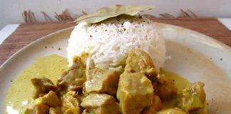 saute de porc au curry avec cookeo