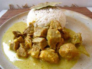 saute de porc au curry avec cookeo