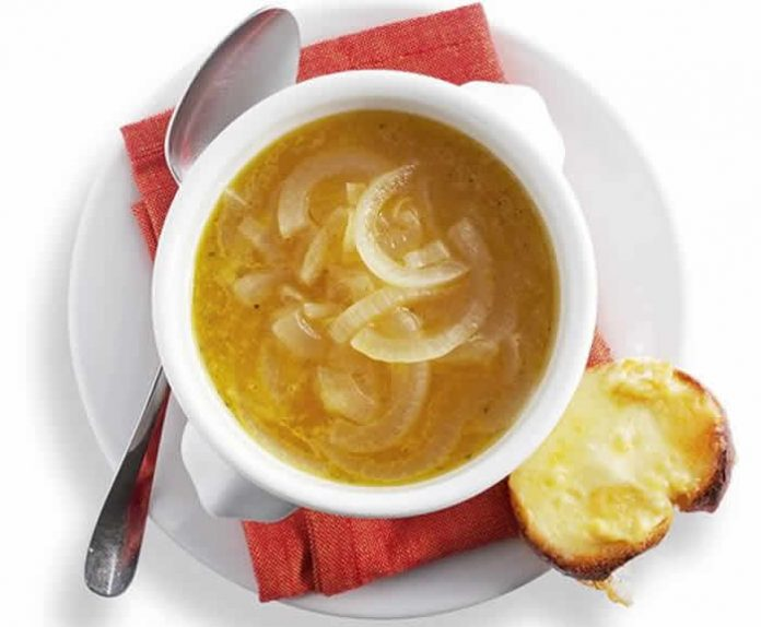 soupe oignon avec cookeo