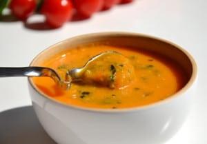 soupe de tomate avec thermomix