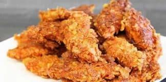 Blancs de poulet panés aux chips avec cookeo