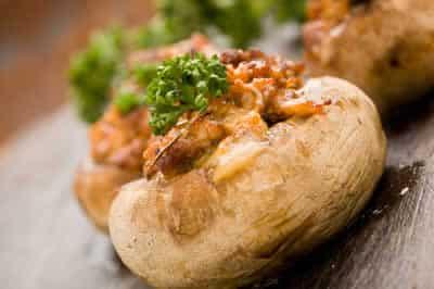 champignons farcis aux crevettes avec cookeo