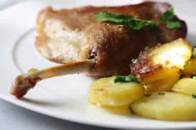 cuisses de canard et pommes de terre avec cookeo