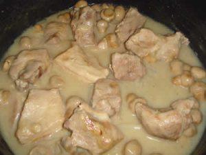 saute de porc au boursin avec cookeo
