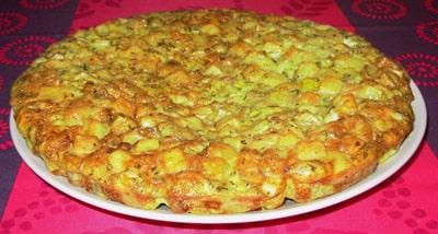 Tortilla aux pommes de terre avec thermomix