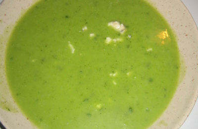 Veloute de brocoli au roquefort avec thermomix recette facile - Veloute brocolis thermomix ...