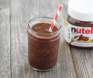 milkshake nutella thermomix