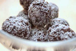 petits gateaux chocolat amande