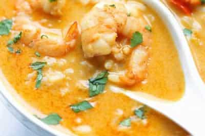 Riz aux crevettes avec cookeo