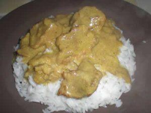 porc curry facile cookeo
