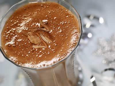 Smoothie chocolat coco et banane avec thermomix
