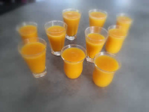 soupe de carottes froide avec cookeo