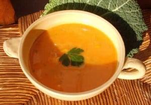 soupe de potiron et noix de muscade avec cookeo