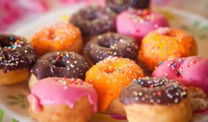 donuts colores