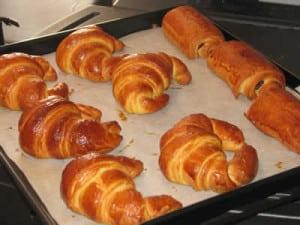 kitchenaid Petits pains chocolat et croissants