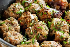 boulettes herbes