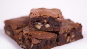 recette brownie chocolat noix