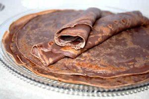 recette crepe chocolat