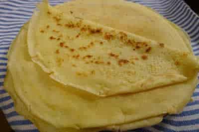 Recette crepes sans oeufs recette facile et rapide la maison - Recette crepe sans doseur ...