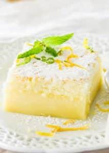 recette gateau magique citron