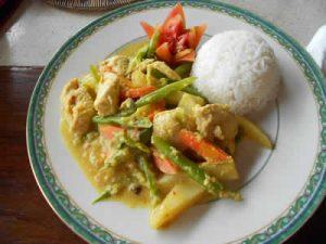 recette poulet balinaise