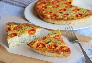 recette quiche tomate parmesan