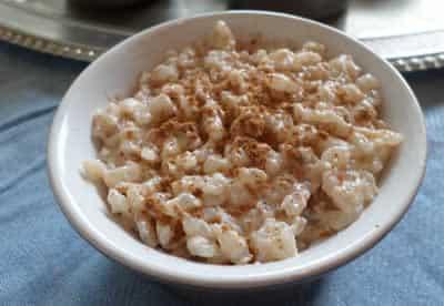 riz lait cannelle cookeo
