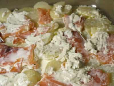 Saumon pommes de terre creme cookeo plat cookeo facile for Plats facile a cuisiner