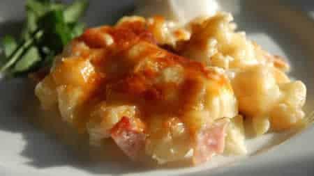 gratin andouillette pommes de terre cookeo