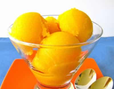Sorbet d'oranges