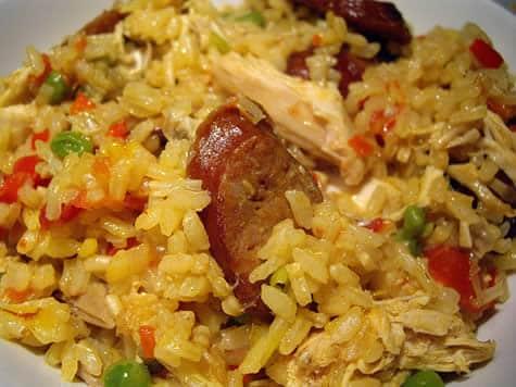 Paella au poulet au cookeo