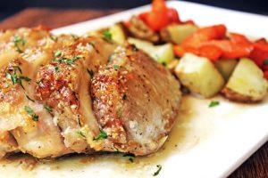 porc aux legumes cookeo