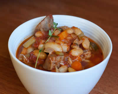 cassoulet haricots blanc cookeo