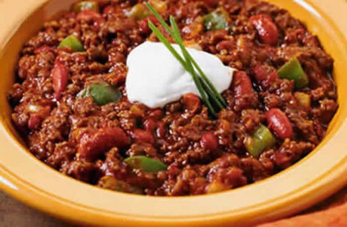 chili con carne cookeo