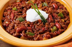 chili con carne cookeo