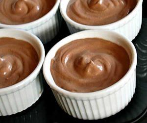 Crème chocolat au cookeo