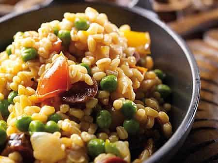 Ebly chorizo legumes cookeo recette facile la maison - Cuisiner avec l huile de coco ...