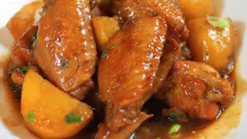 pilon de poulet pommes de terre cookeo