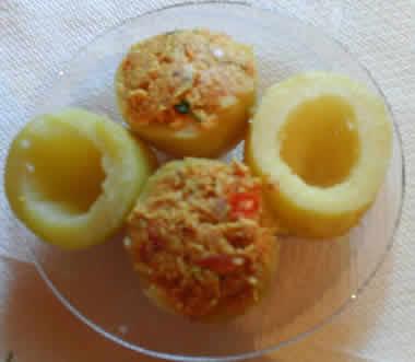 pommes de terre farcies cookeo