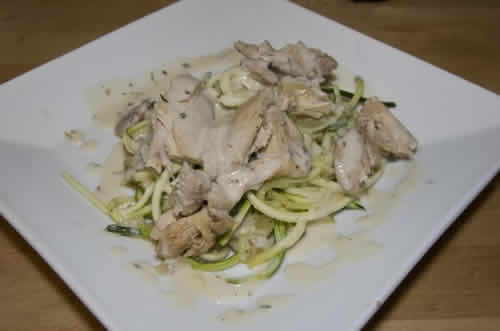 poulet courgettes cookeo