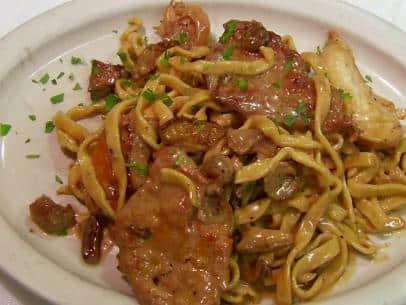 saute veau olives champignons cookeo