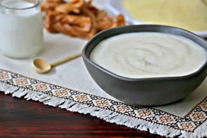 Soupe de semoule au lait cookeo