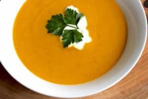 soupe pommes de terre potiron cookeo