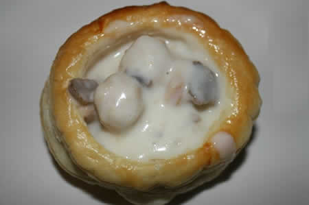Vol au Vent poulet cookeo
